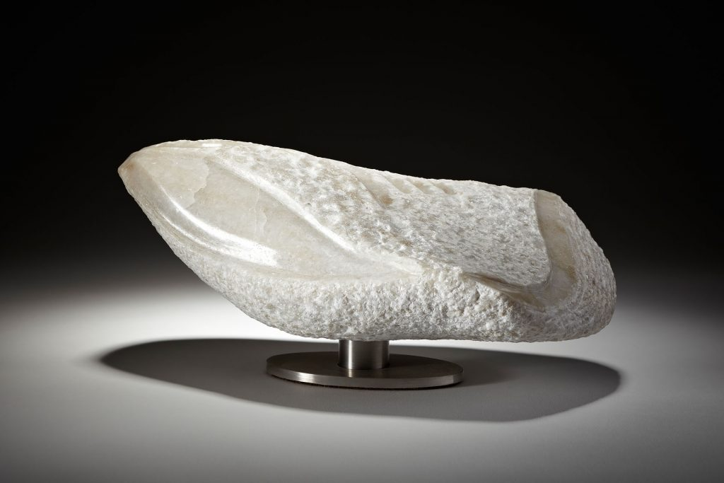 Stone sculpture by Angela Verlaeckt Clark