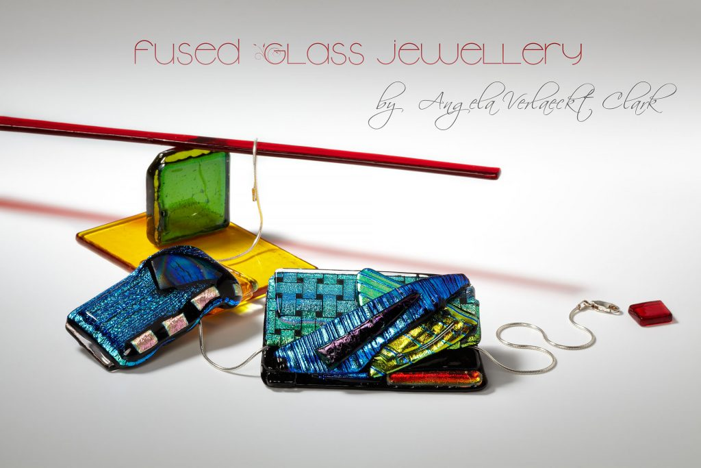 Fused glass jewellery by Angela Verlaeckt Clark