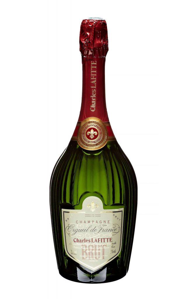 Bottle of Champagne Lafitte