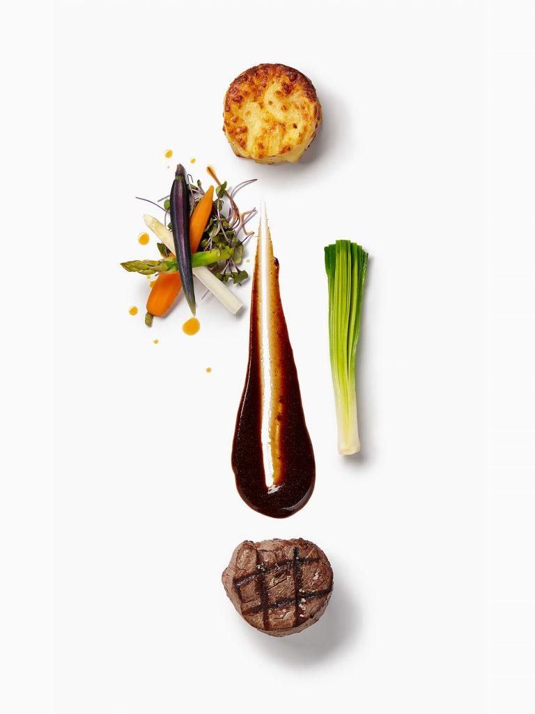Culinary creation by Chef Martin de Board, Distinction by Sodexo