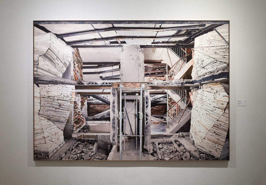 Arles 2019 - Destroyed House by Marjan Teeuwen, a photo exhibition