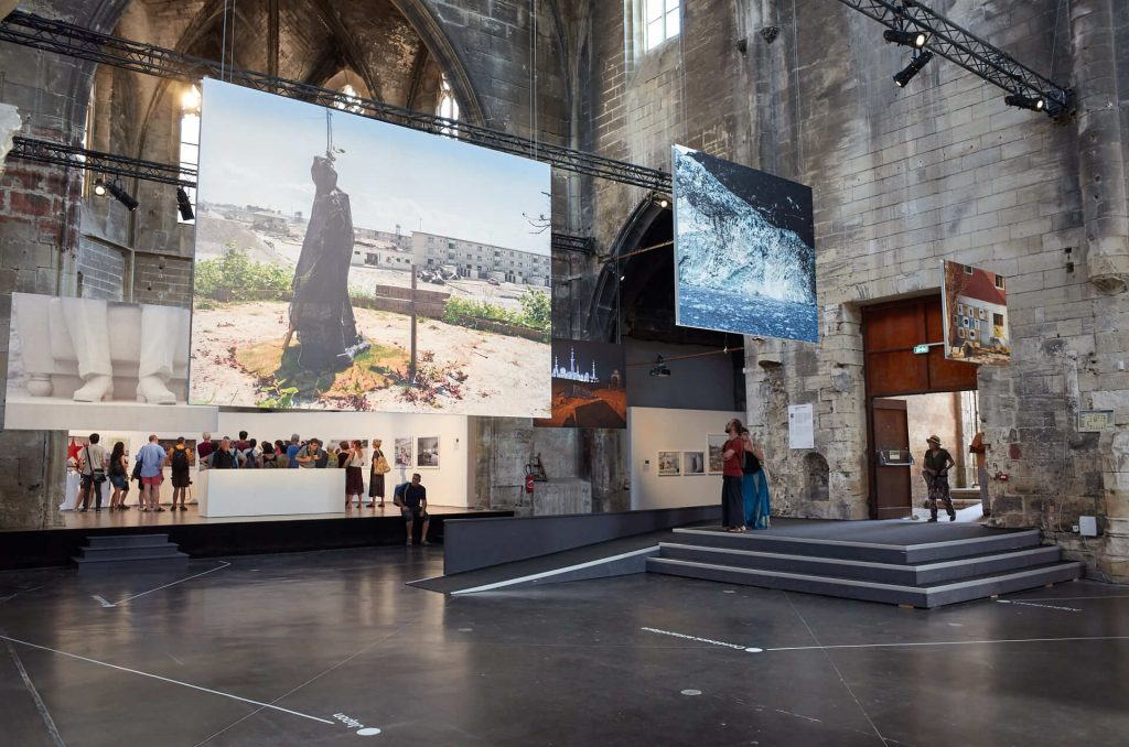 Arles 2019 - Datazone, a photo exhibition by Philippe Chancel